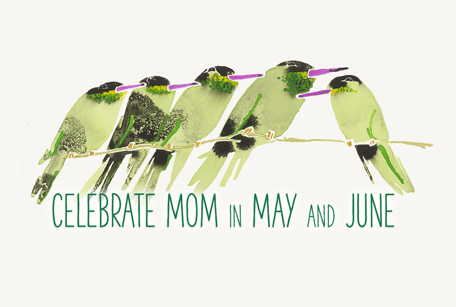 Celebrate Mom in May and June - special deals in Negril, Jamaica