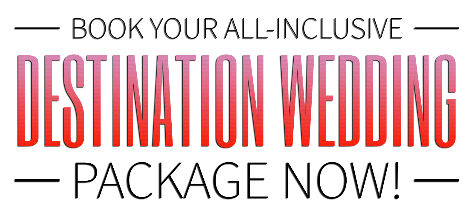 All Inclusive Destination Wedding Packages in Negril, Jamaica