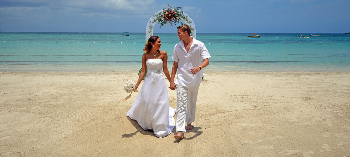 Plan your Jamaican wedding or vow renewal
