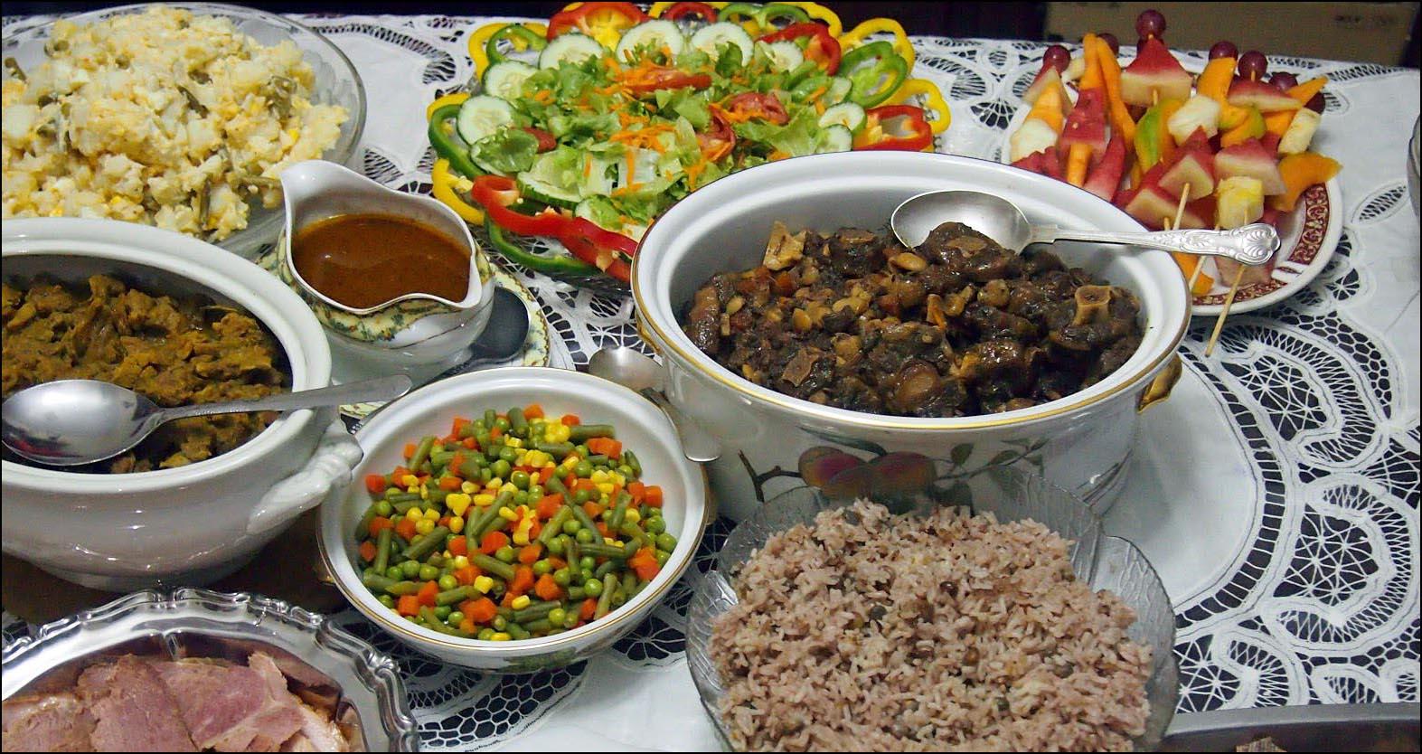 Jamaican Christmas Food.Christmas In Jamaica