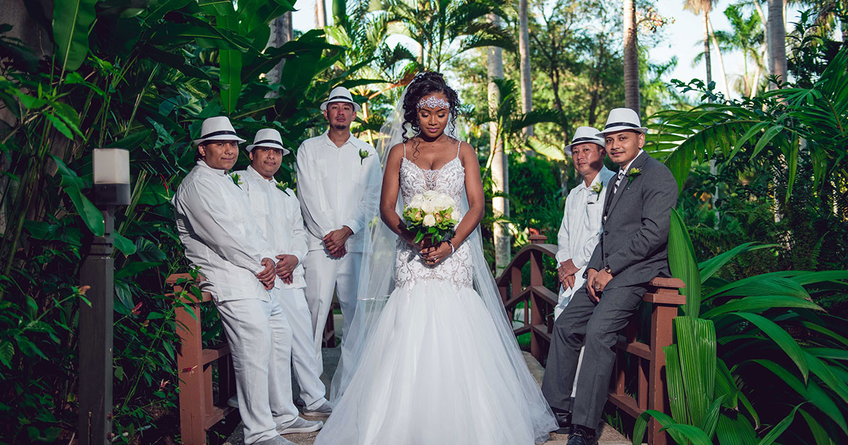 what to wear for a destination wedding negril jamaica